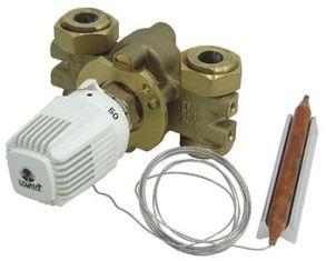 Термостатичный вентиль с выносным датчиком