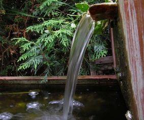 вода в коттедже