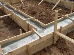 Фундамент основа строительства дома.